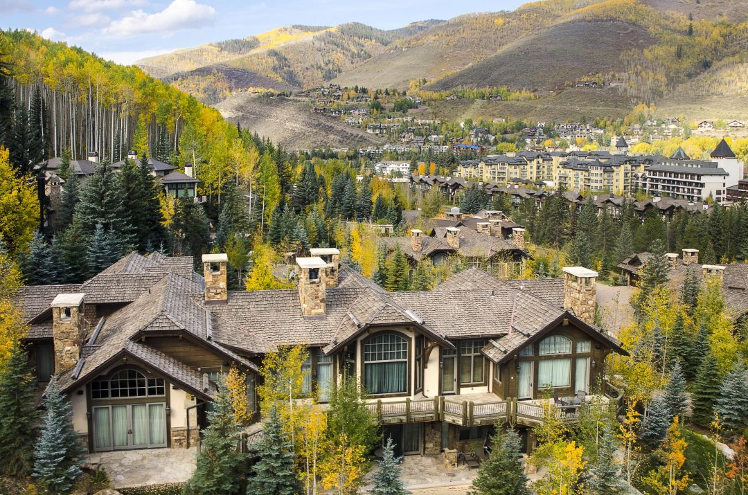 Mountain Resort Village Vail CO