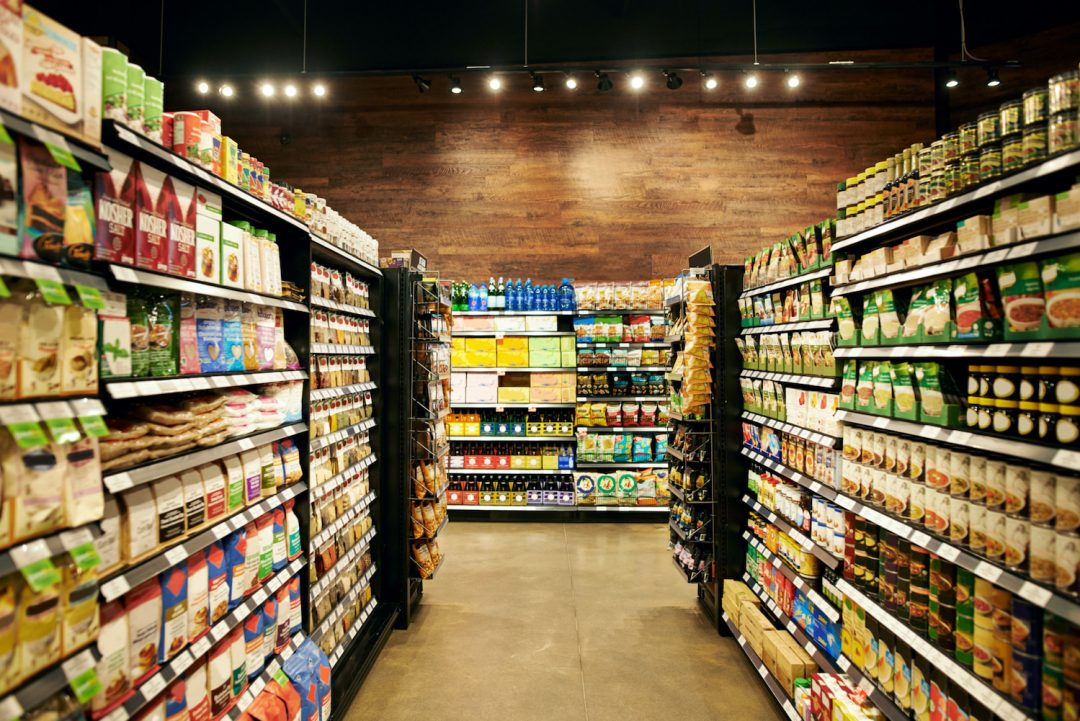 Specialty Grocery Store Aisle